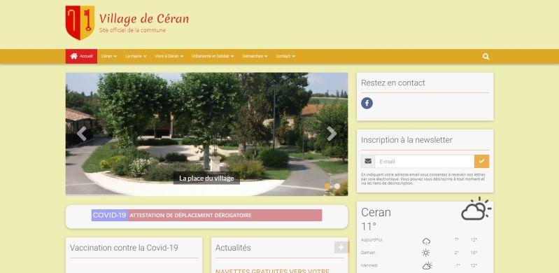 Village de Céran