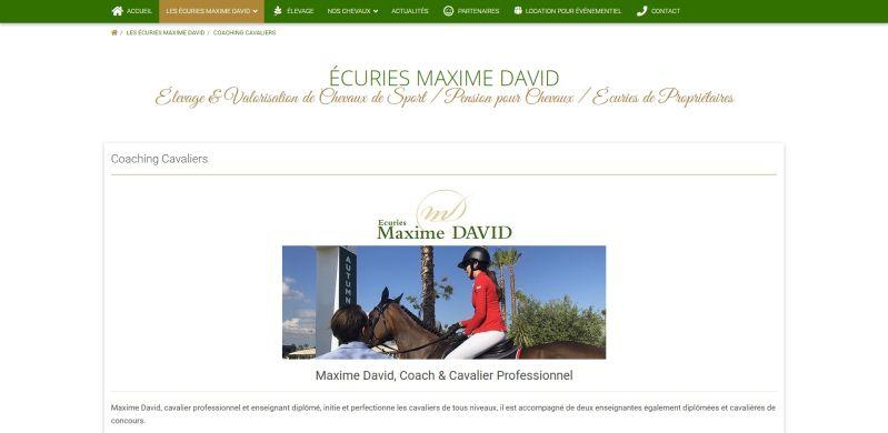 ÉCURIES MAXIME DAVID