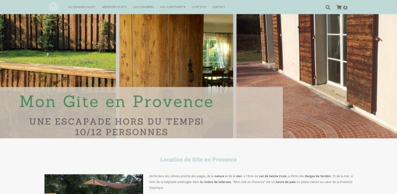Mon Gîte en Provence