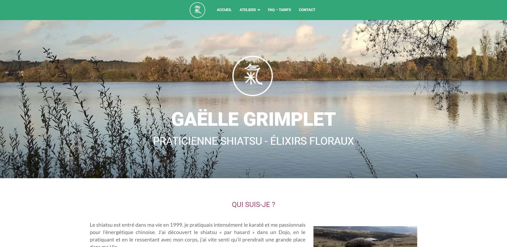 Gaëlle Grimplet Shiatsu Bordeaux
