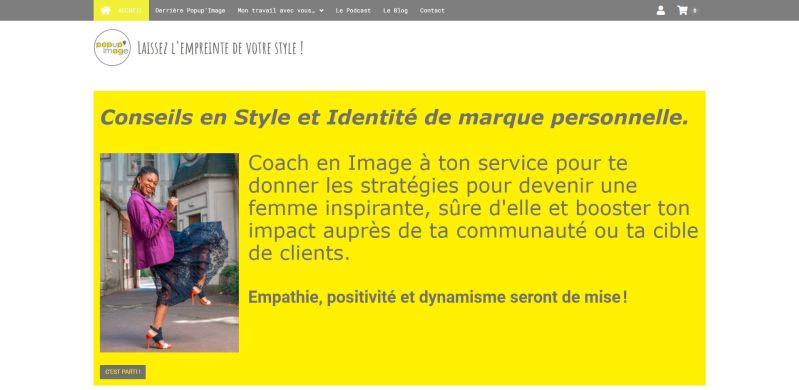 Popup'Image, conseils en Style vestimentaire et Relooking
