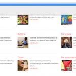 """Exemples de catégories au sein d'un type de contenus """"Activités"""""""