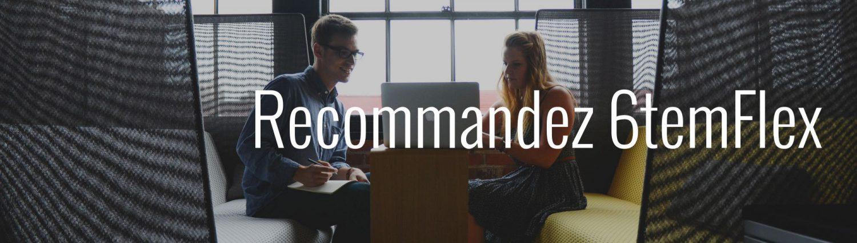 recommandez 6temFlex création de sites internet
