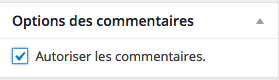 AutorisationCommentaires