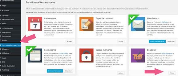 Créer une boutique en ligne en 1 clic