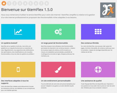 6temFlex en version 1.5.0