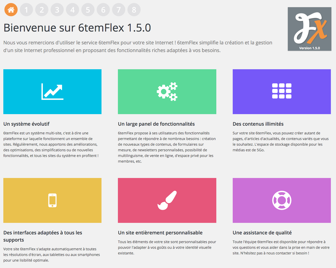 6temFlex en version 1.5.0