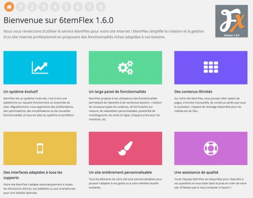 Nouvelle version 1.6 de 6temFlex