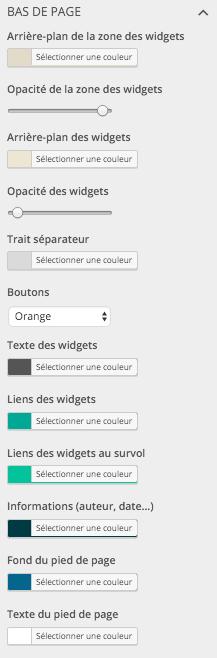 Choisir les couleurs pour son site