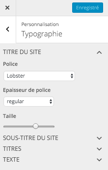 Choisir les typographies pour son site