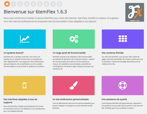 Nouvelle version 1.6.3 6temFlex