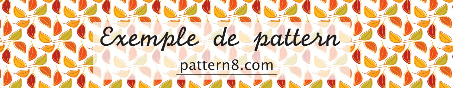 exemple de pattern site pattern8