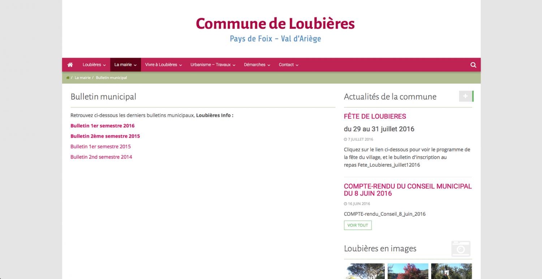 Commune de Loubières