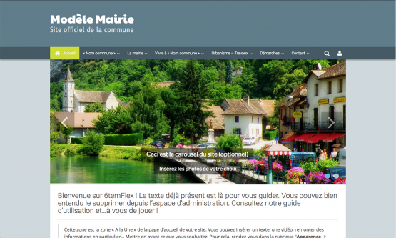 Créer un site Internet pour sa mairie
