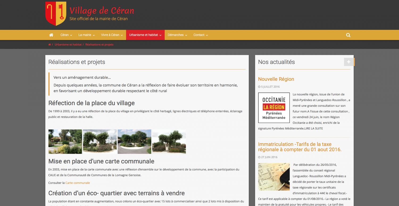 cr er un site internet pour une mairie 6temflex cr er un site internet professionnel bas. Black Bedroom Furniture Sets. Home Design Ideas