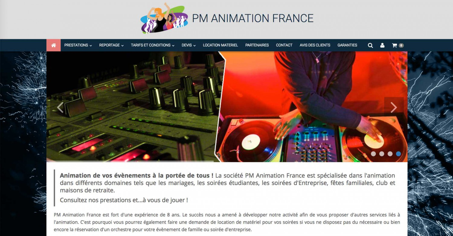 PM animation France