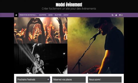 Créer un site événement