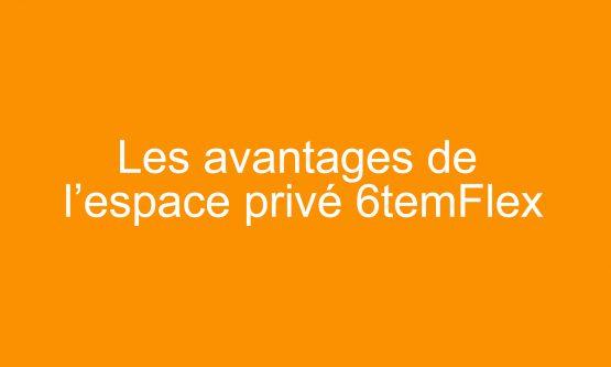 Les avantages de l'espace privé