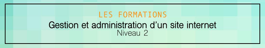 Formation création et administration d'un site internet 2