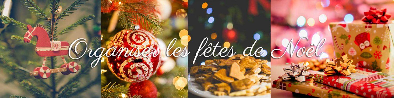 Organiser les fêtes de Noël