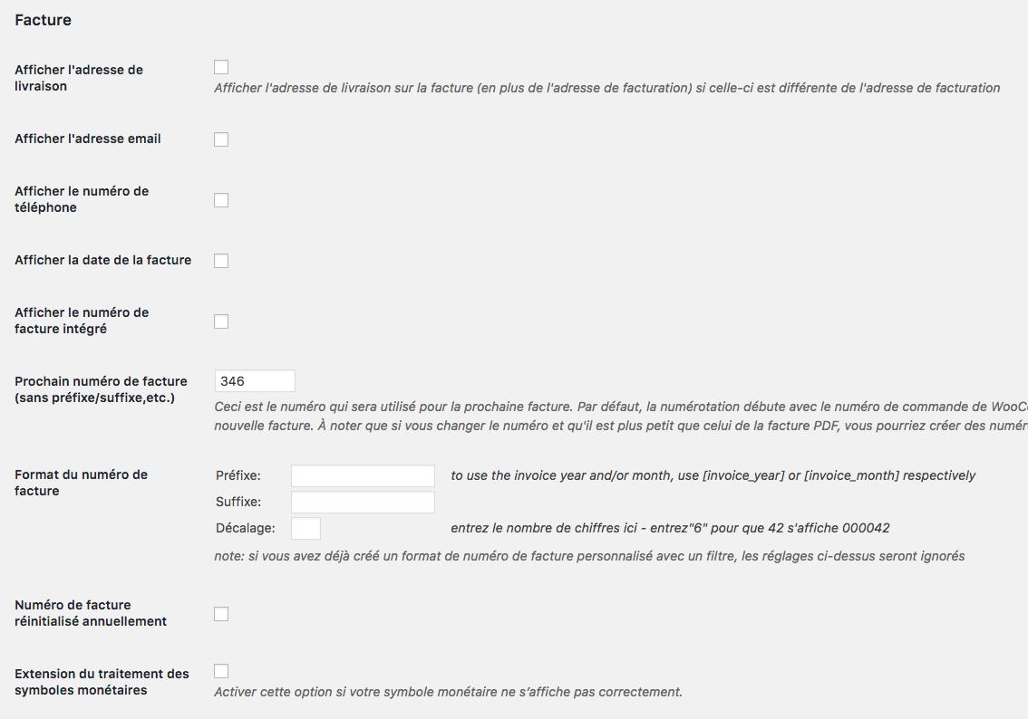 Personnalisation des factures de son site e-commerce