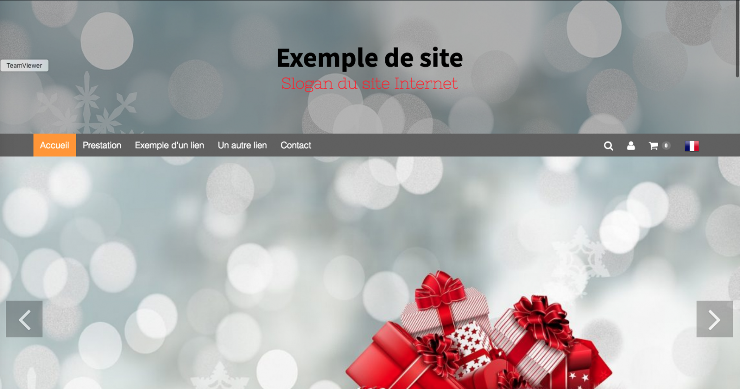 menu-place-sous-la-partie-entete-du-site-internet