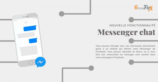 Communiquer en direct sur votre site via le chat Facebook Messenger