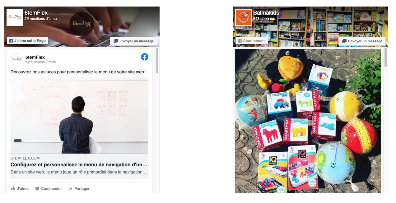 Intégrer un fil Facebook dans une page (ou un widget)
